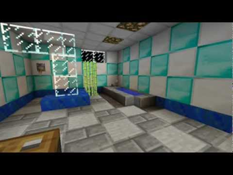 Minecraft Bathroom Design Youtube
