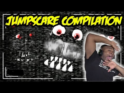 Five Nights At Freddy's JUMP SCARE/Funny Moments Compilation
