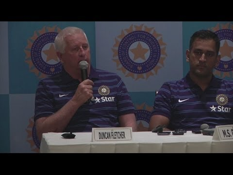 MS Dhoni looks ahead to England Test