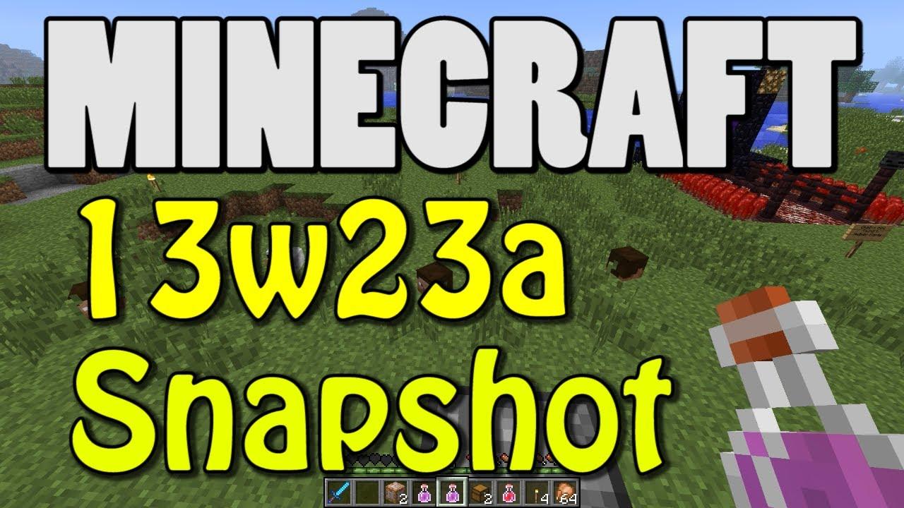 minecraft snapshot 13w23a mindcrack uhc mode youtube. Black Bedroom Furniture Sets. Home Design Ideas