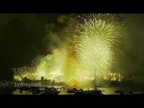 Sparkling Sydney kicks off global 2014 party