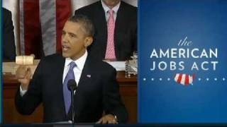 Obama's Jobs Speech To Congress- Full Video