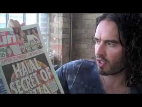 Russell Brand Halal EXPOSED!! WATCH TO THE END. WARNING, GRAPHIC!!