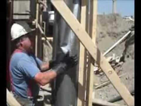 Fast tube - betonowy filar