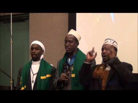 ISTIQAAMAH: Xafladii Mawliidka Nabiga NNK Mnpls 2013- Caleyka Salaatullahi Yaa Kheyral Murssali