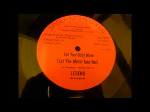 LET YOUR BODY MOVE - Featuring Legend is Love