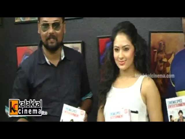Nikesha Launches Cinema Spice Magazine
