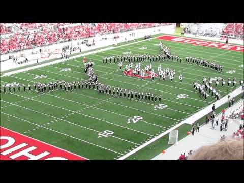 OSUMB 9 24 2011 Half Time Phantom of the Opera. Ohio vs Colorado