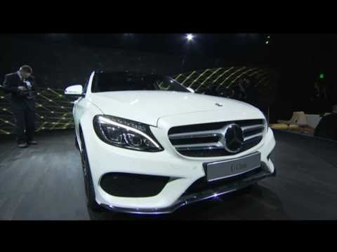New Mercedes C-Class LIVE Premiere 2014 NAIAS North American International Auto Show