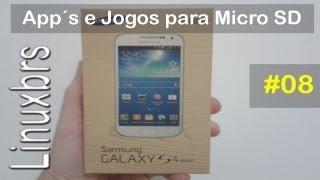 Samsung Galaxy S4 Mini Duos I9192 Movendo App´s E