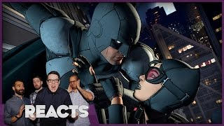 Batman: First Look at Telltale Game – Funny Reacts