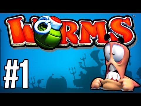 Worms Armageddon #1: DŻDŻYSTE DŻDŻOWNICE