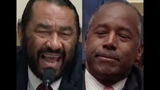 """""""ANSWER THE QUESTIONS!!!"""" Al Green GETS PISSED OFF & DESTROYS Ben Carson on Trump's Budget"""