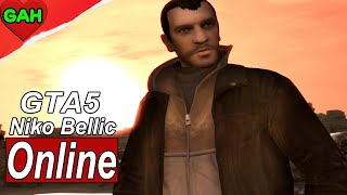 GTA 5 Online Niko Bellic Character Customization