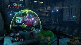 LEGO Marvel Super Heroes 100% Guide #4 Rock Up At The