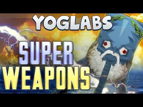 YogLabs - Super Weapons (Minecraft 1.8.1 Vanilla Command Block Code)