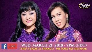 Livestream Hương Lan & Mai Thiên Vân - March 21, 2018