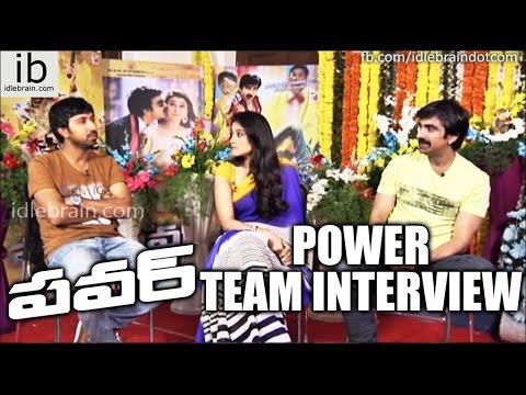 Power Movie Team Interview