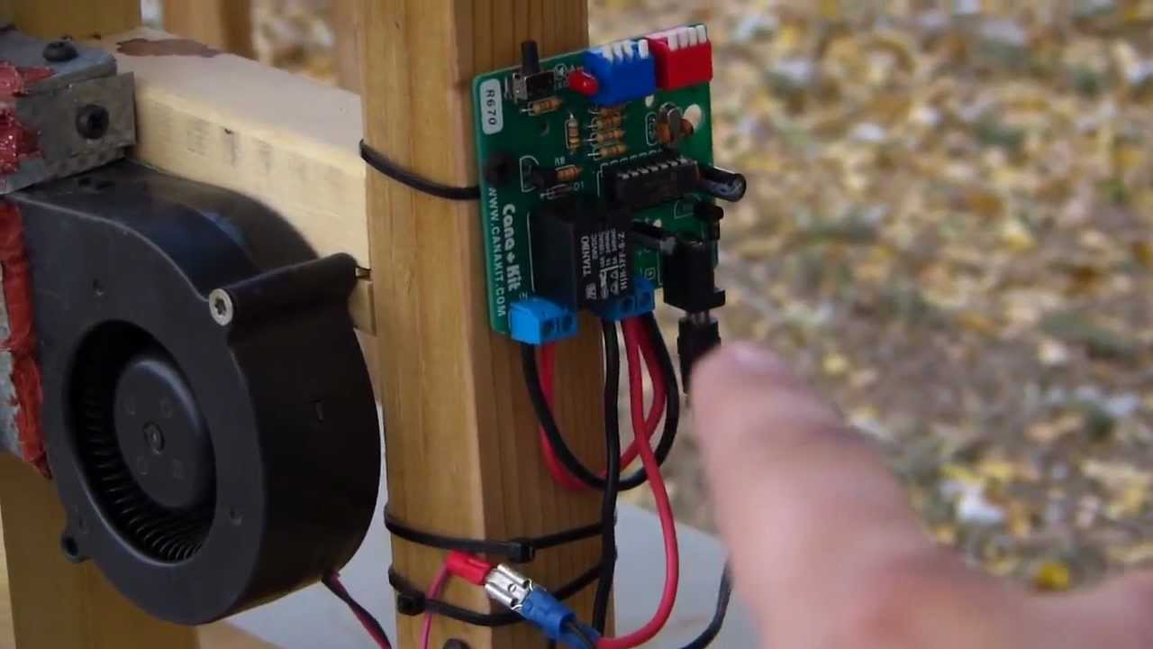 Diy 12v Pellet Stove Control And Auger Youtube