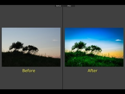 Learn Lightroom 5 - Part 8: Split Toning (Training Tutorial)
