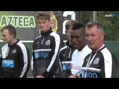 VIDEO: Christian Atsu highlights World Orphan Day at Newcastle United Foundation soccer school