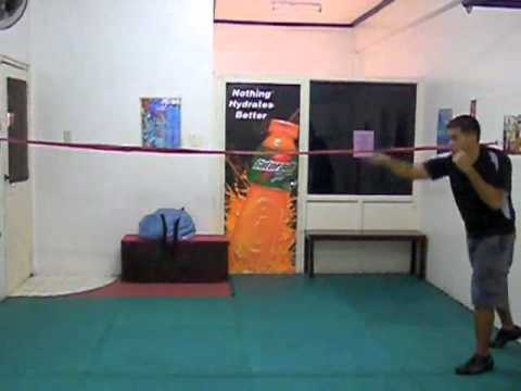 Boxing Training - Boxing Rope Drill