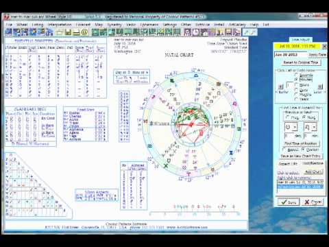 Sirius Astrology Software: Chart Wheel Animation, Chart Adjust, and Electional Astrology