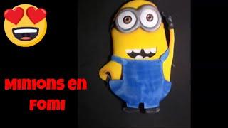 Minions Como Hacerlos En Fomi (how To Make Them With