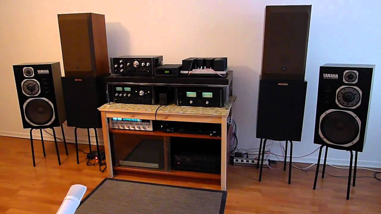 Vintage home audio system