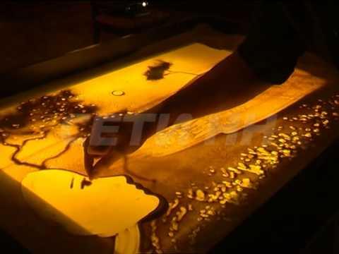 Песочная анимация - новое направление в искусстве
