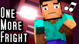one more fright a minecraft parody of maroon 5s one more night music video