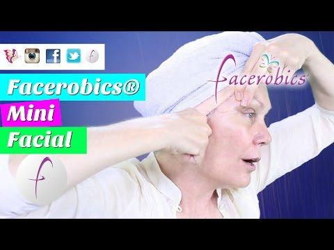 How to Get Beautiful Skin Glowing Skin & Stop Face Sagging with Facial Massage for Mini Facial