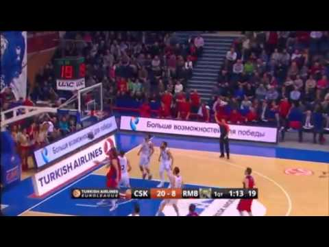 Euroleague 2013/14 : CSKA 85-71 Real Madrid