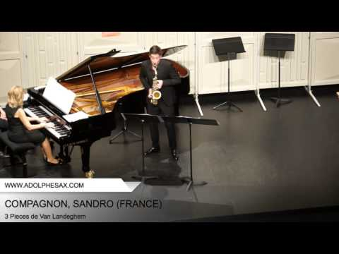 Dinant 2014 - COMPAGNON, Sandro (3 Pieces by Jan Van Landeghem)