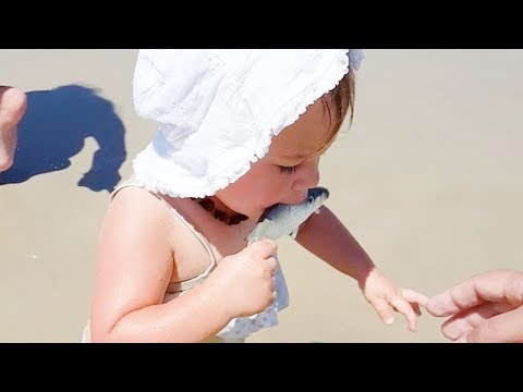 BEST FUNNY BABIES MEET FISH FOR THE FIRST TIME #2 | Funny Babies And Animals Videos Compilation