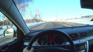 2007 Volkswagen Passat 2.0FSI POV Test Drive. MegaRetr