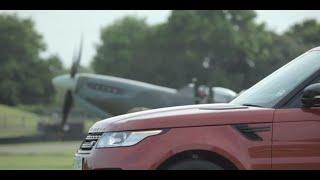 All-new Range Rover Sport vs. Vickers Supermarine Spitfire Challenge
