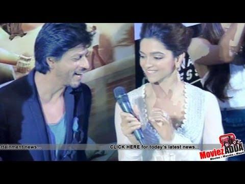 Meherbani Song 'Chennai Express' | Shahrukh & Deepika Sings Live