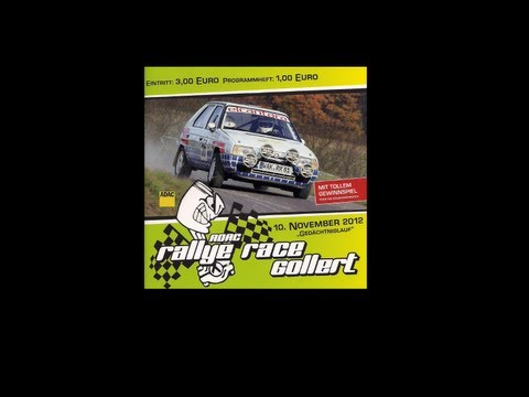 ADAC rallye race gollert 2012