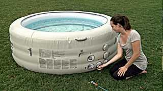 Bestway Lay-Z-Spa™ Vegas Inflatable Hot Tub 54112 Set