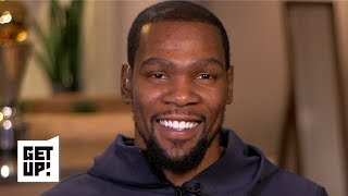 Kevin Durant wants to talk basketball, not business with the media   Get Up!
