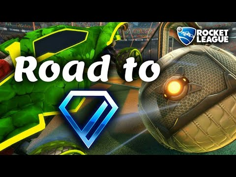 Im 2v2 in Richtung Dia! | Rocket League: Ranked Gameplay [German][HD]