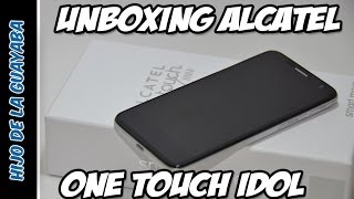 [Unboxing] Alcatel One Touch Idol Mini 6012
