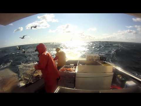 GoPro HD Hauling lobster pot Trawls