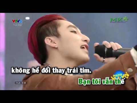 Như Ngày Hôm Qua   Sơn Tùng M TP Karaoke HD