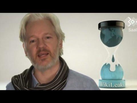 WikiLeaks' Julian Assange Calls on Computer Hackers to Unite Against NSA Surveillance