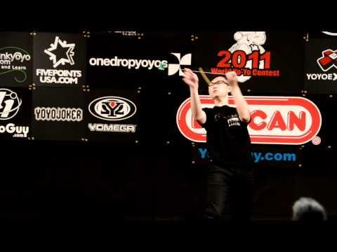C3yoyodesign present: World Yoyo contest 2011 5A 10th - Ron Chan
