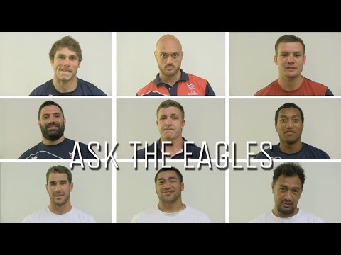 Ask the Eagles - Who is your celebrity man crush?