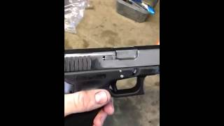 Messed Up Glock FixedGlock PolishingPolished Barrel And Slidewas Now Its Fixed