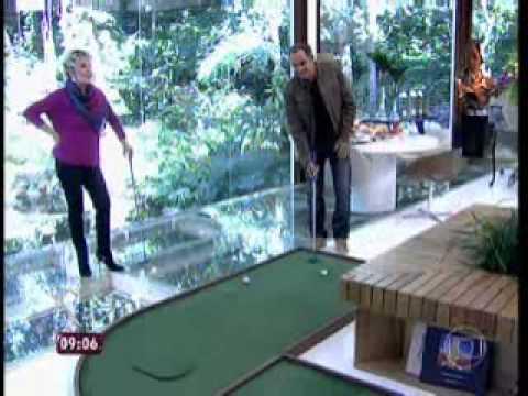 Humberto Martins fala de golfe no programa Mais Você